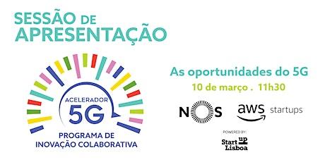 As oportunidades do 5G, by NOS, Amazon Web Services e Startup Lisboa bilhetes