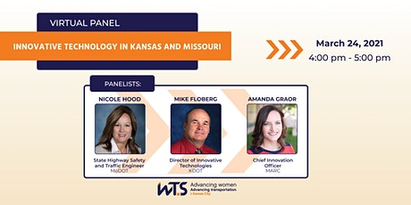WTS-KC Virtual Panel: Innovative Technology in Kansas and Missouri tickets