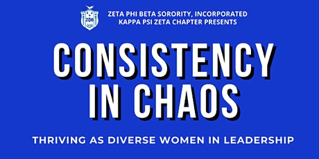Consistency in Chaos: Thriving as Diverse Women in Leadership tickets