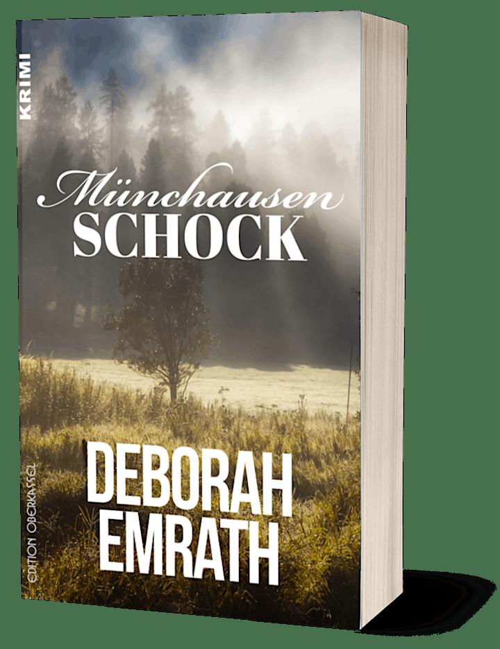 """Premierenlesung: Deborah Emrath liest aus """"Münchhausenschock"""": Bild"""