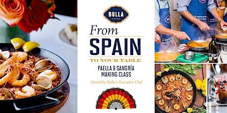 Paella & Sangria Making Class @ Bulla Gastrobar - Coral Gables tickets