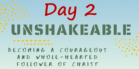 10 April In-Person Unshakable Faith Conference: Day 2 Tickets