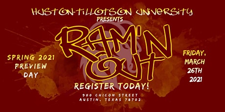 Huston-Tillotson University - Future RAM Spring  Preview Day tickets
