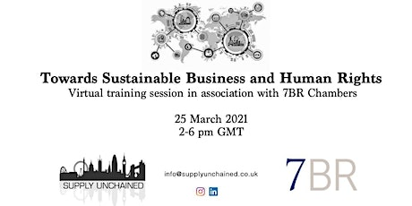 Towards Sustainable Business and Human Rights - Workshop tickets