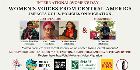 Women's Voices from Central America: Impacts of US Policies on Migration tickets