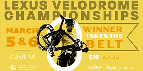 ACL's Lexus Velodrome Championships Day 2 tickets