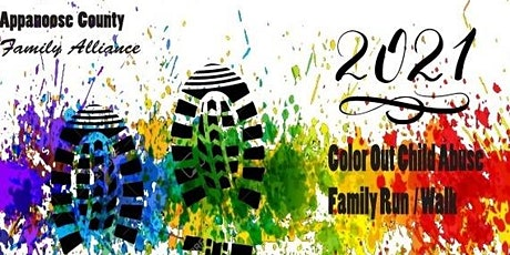 Color Out Child Abuse VIRTUAL Fun Run/Walk 5K tickets