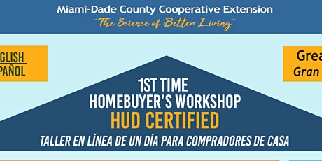 1st Time Homebuyer Workshop (English Two-Day) tickets
