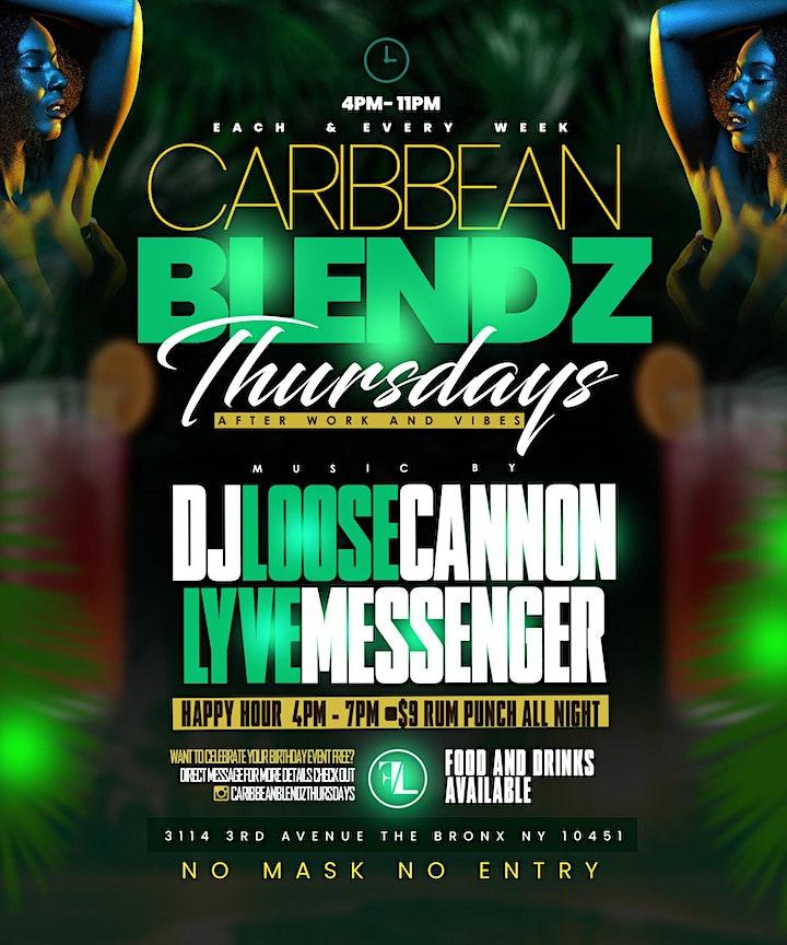CARIBBEAN BLENDZ THURSDAYS image
