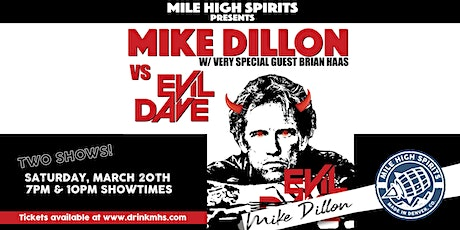 [7PM  SHOW] Mike Dillon w/ very special guest Brian Haas tickets