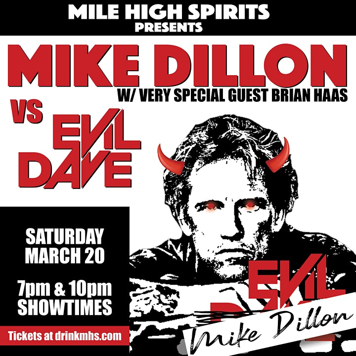 [7PM  SHOW] Mike Dillon w/ very special guest Brian Haas image