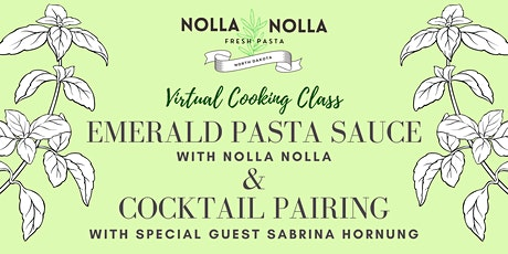 Emerald Pasta Sauce & Cocktail Pairing Cooking Class tickets