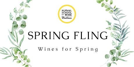 Virtual Seminar - SPRING FLING: Wines for Spring tickets