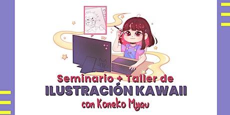 Seminario + Taller de Ilustración Kawaii entradas