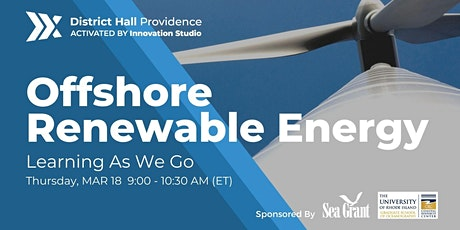 Offshore Renewable Energy : Learning As We Go tickets