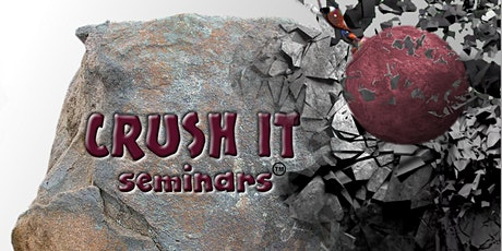 Crush It Skilled & Trained Workforce Seminar, May 26, 2021 - Corona tickets