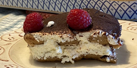 "Learn to make Italy's famous dessert, ""Tiramisu,"" live from Tuscany. tickets"