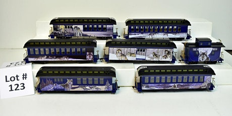 Model Trains & Accessories Auction tickets