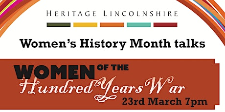 TALK - Women of the Hundred Years War tickets