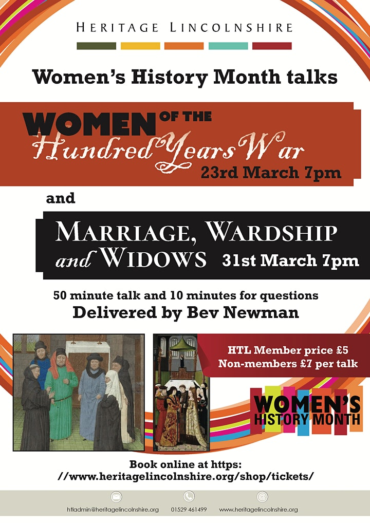 TALK - Women of the Hundred Years War image