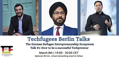 Techfugees Berlin Talks #1: The Germany Refugee Entrepreneur Ecosystem tickets