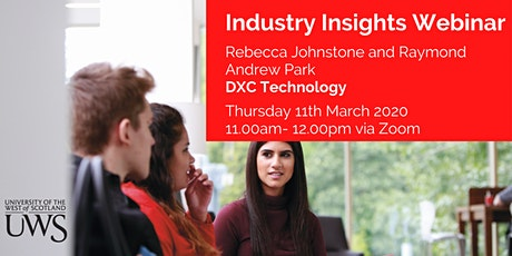 Industry Insights: DXC Technology tickets