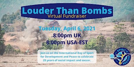 Louder Than Bombs Virtual Fundraiser tickets