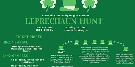 St.Patrick's Day Leprechaun Hunt!! tickets