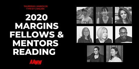 2020 Margins Fellows and Mentors Reading tickets