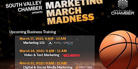 Marketing March Madness- Digital & Social Media Marketing tickets