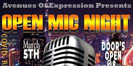 Open Mic/ Karaoke Night tickets