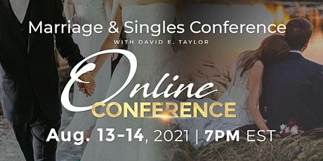 Online Marriage & Singles Conference tickets