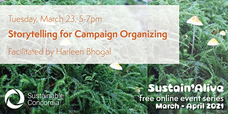 Storytelling for Campaign Organizing tickets