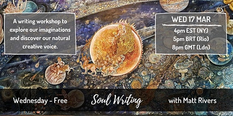 Soul Writing for Creativity with Matt Rivers (UK) - FREE tickets