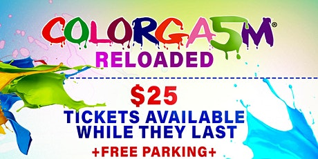 Colorgasm® 2021 - Outdoor Paint, Powder, and Water Day Party tickets