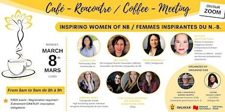 (FREE) Inspiring women of NB / (GRATUIT) Femmes inspirantes du N.-B. tickets