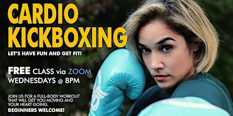 FREE Online Cardio Kickboxing tickets