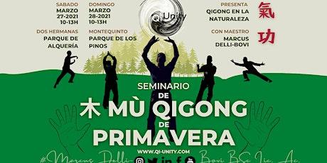 SEMINARIO 木 MU QIGONG de PRIMAVERA tickets