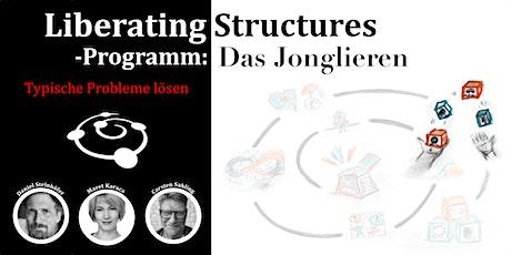 Liberating Structures-Programm: Das Jonglieren Tickets