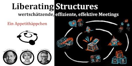 Echte Zusammenarbeit mit Liberating Structures: Ein Appetithäppchen Tickets