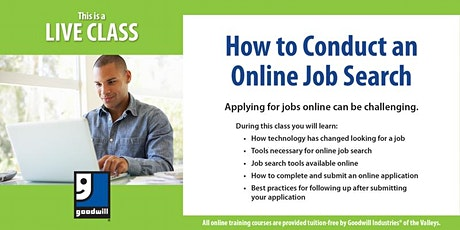 Conducting an Online Job Search tickets