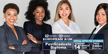 Free European MBA & Post Graduate Diploma Webinar tickets