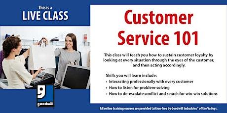 Customer Service 101 biglietti
