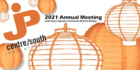 JP Centre/South Main Streets 2021 Annual Meeting tickets