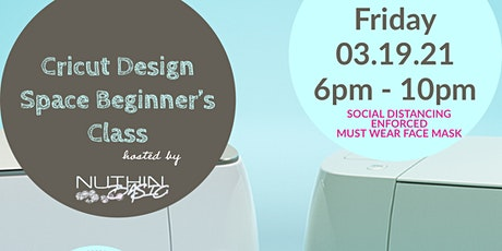 Cricut Design Space Beginner's Class tickets