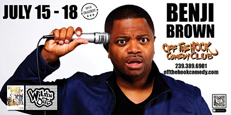 Comedian Benji Brown live  in Naples, Florida tickets