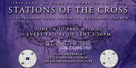 Stations of the Cross inside Church - Friday, March 5, 2021 @ 5:30pm tickets