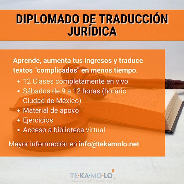 Imagen de Diplomado de Traducción Jurídica