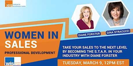 Women in Sales: Becoming the S.T.A.R. in your Industry tickets