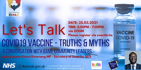 Covid19 Vaccine - Truths and Myths tickets